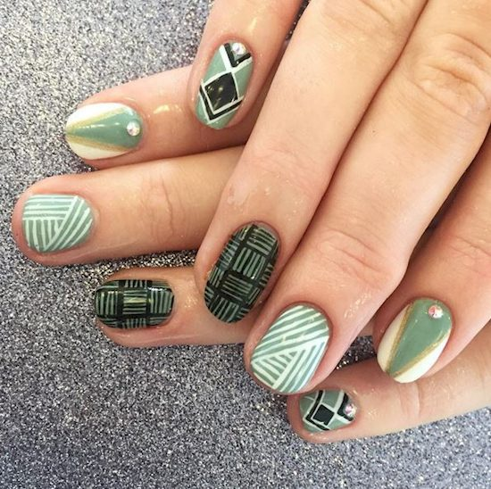 16 ways green polish 12