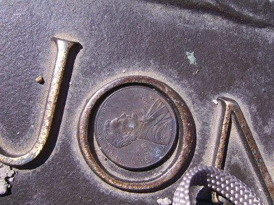 Coin on Fallen Soldier's Grave 4
