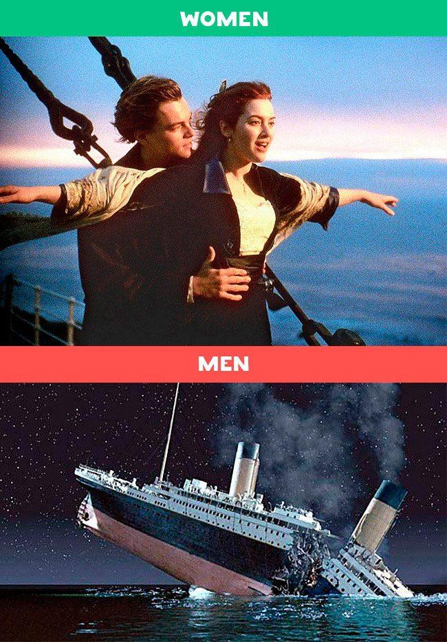 men women differences 9