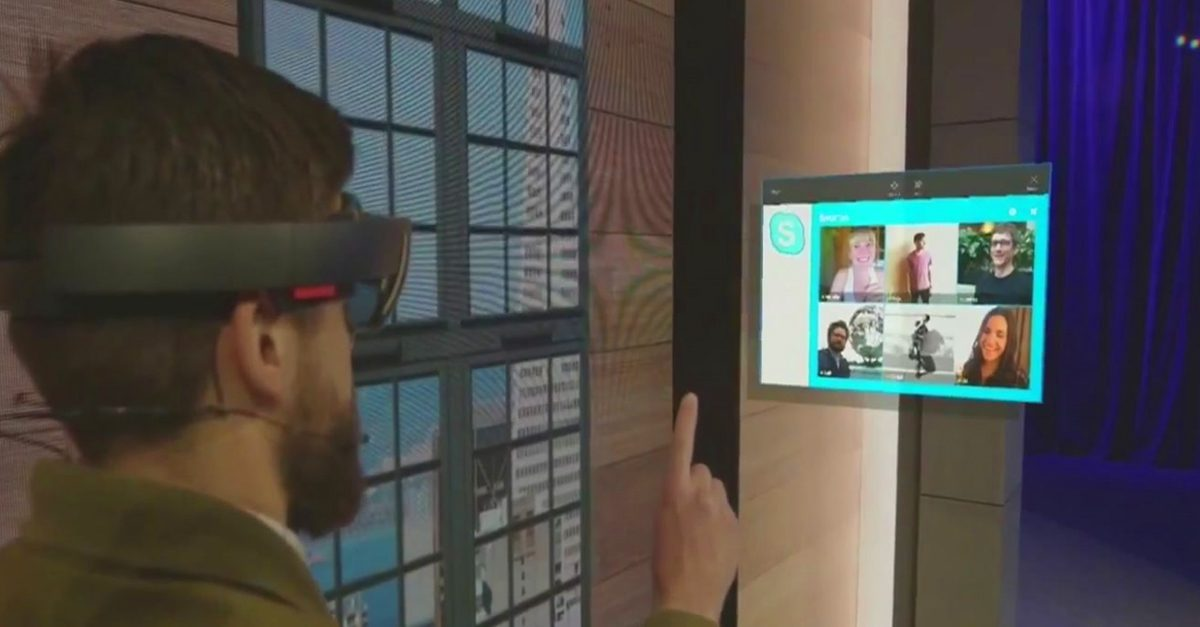 Take A Look At Microsoft S New Holographic Augmented