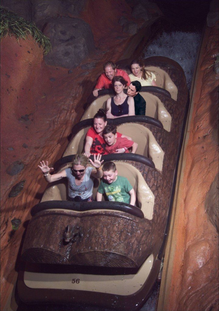 angry lady splash mountain meme