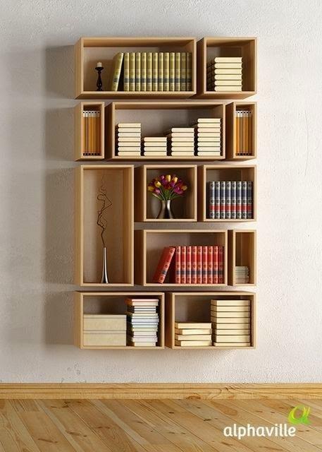 Amazingly Creative Shelves For Book