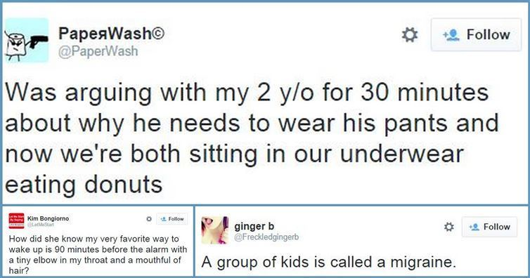 funny tweets about parenting
