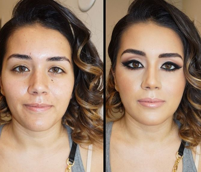 Photos Showing How Makeup Can Completely Transform People
