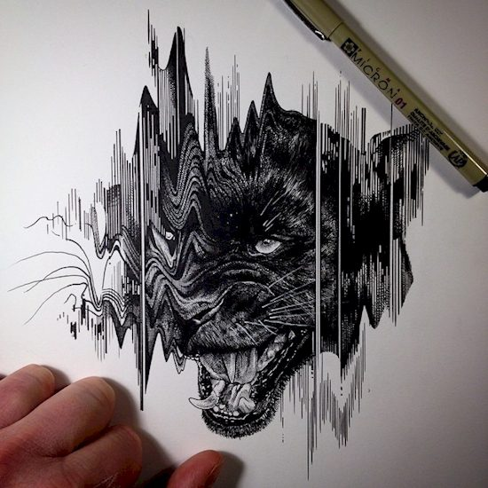 This Artist Uses Simple Tools To Create The Most Detailed ...