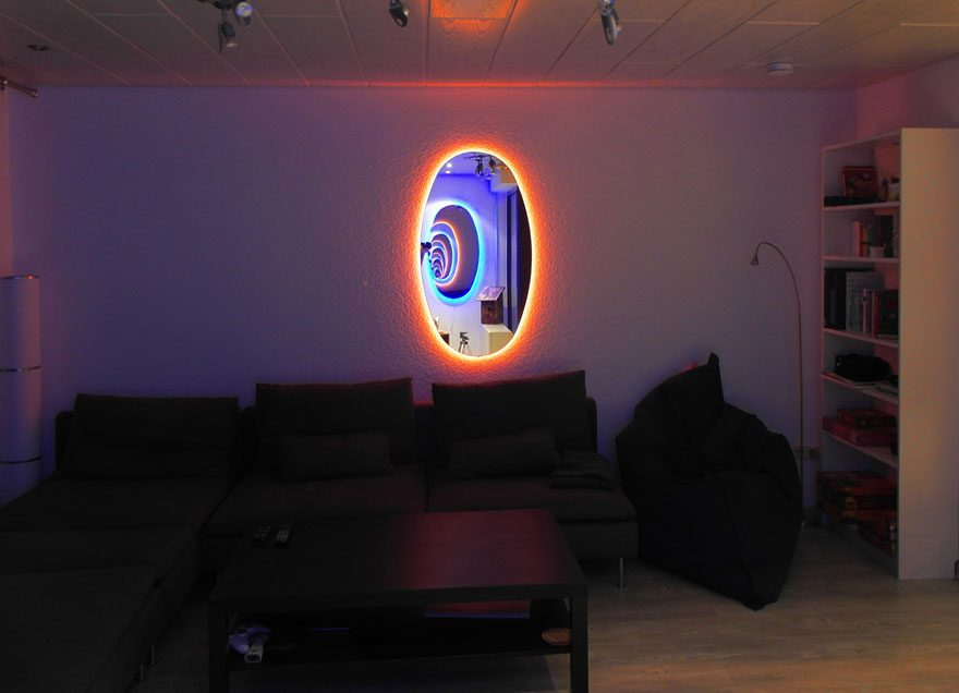 Portal Mirrors Are The Most Awesome Way To Brighten Your Room