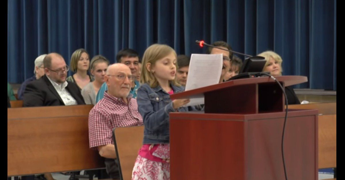 Little Girl Has A Lot To Say About Standardized Tests