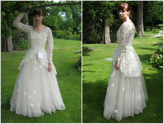 Man Donated His Late Wife's Wedding Dress With A