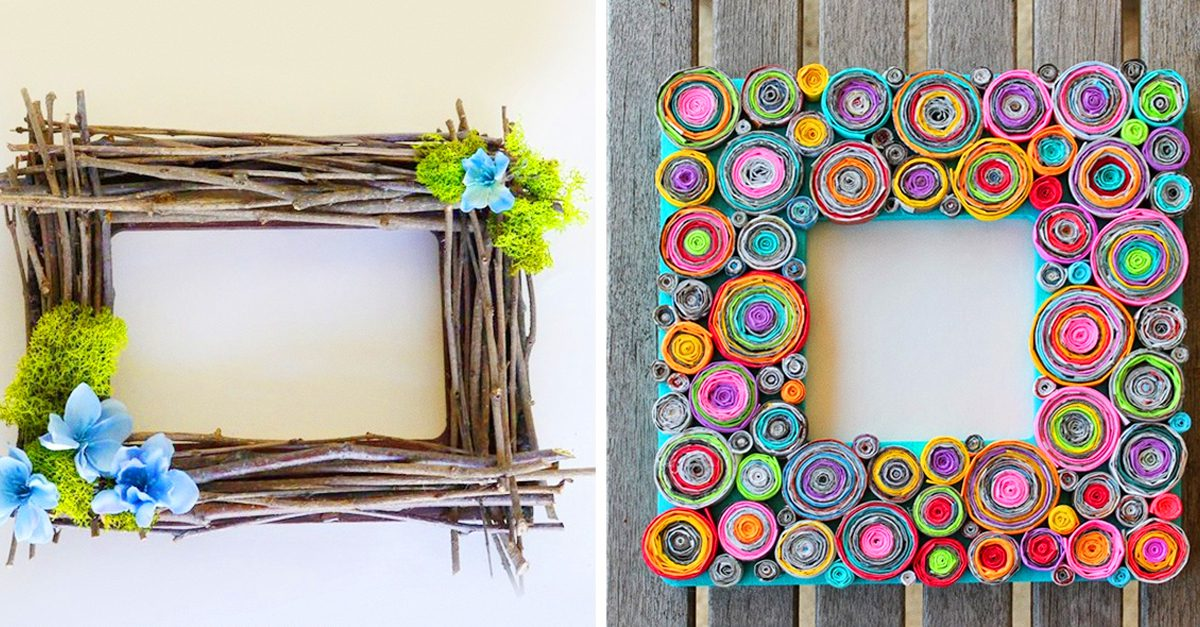 17 Creative Ways To Decorate Picture Frames