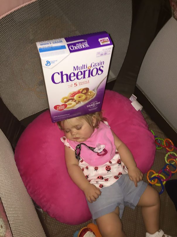 dads competing cheerios 2