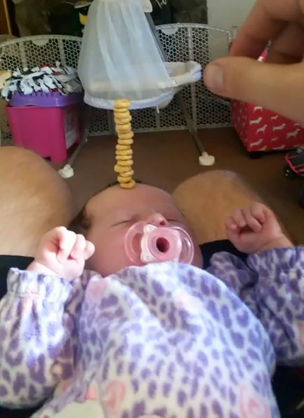 dads competing cheerios 5