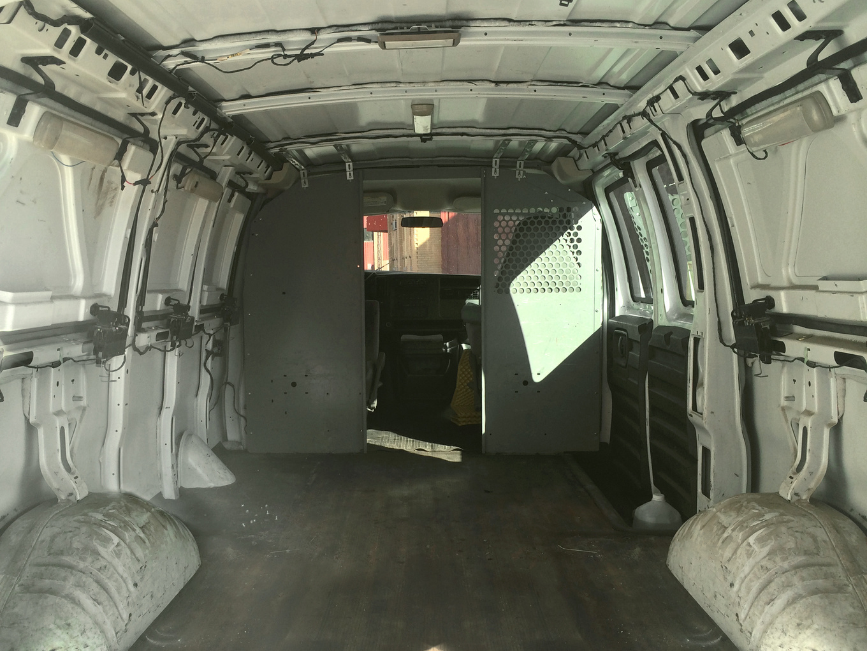 old van transformed into home 1