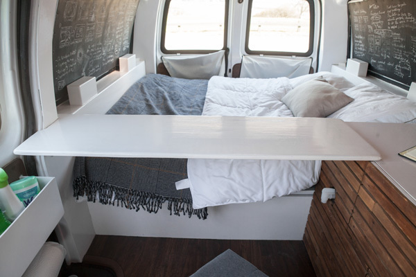 old van transformed into home 15