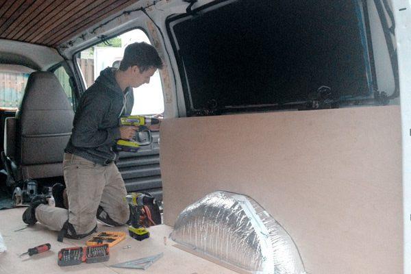 old van transformed into home 7