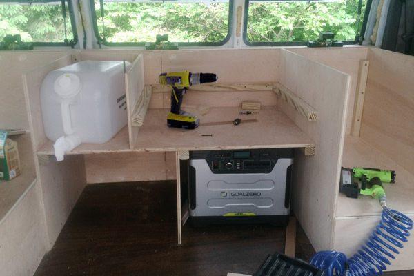 old van transformed into home 9