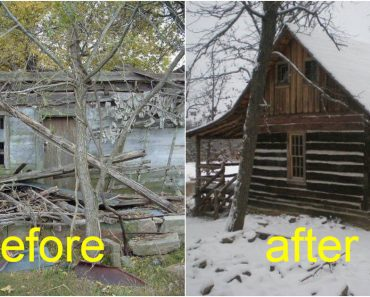 Old Log Cabin Transform