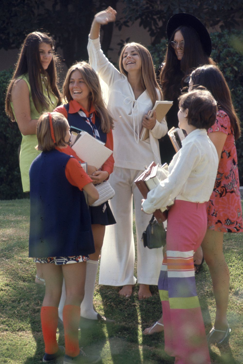 Highschoolers In 'Hippy' Fashions