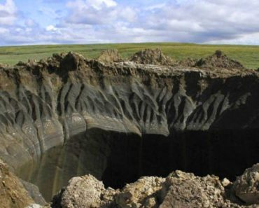 massive crater in Siberia
