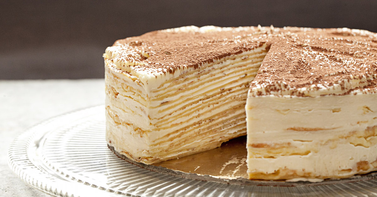 Mille Crepe Cake Recipe Video