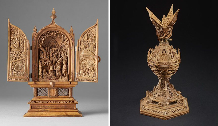 boxwood carvings