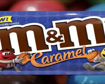 caramel m&ms