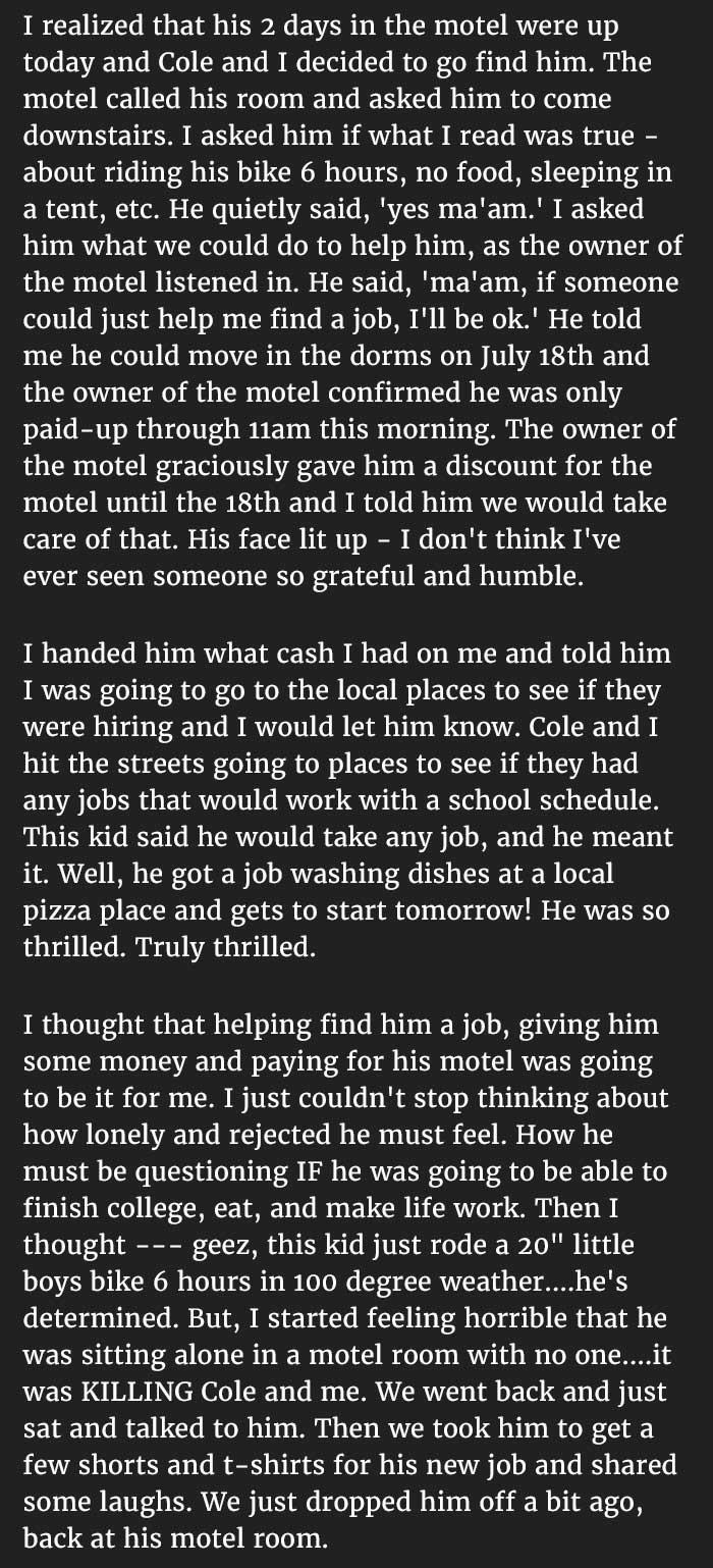 officer kindness