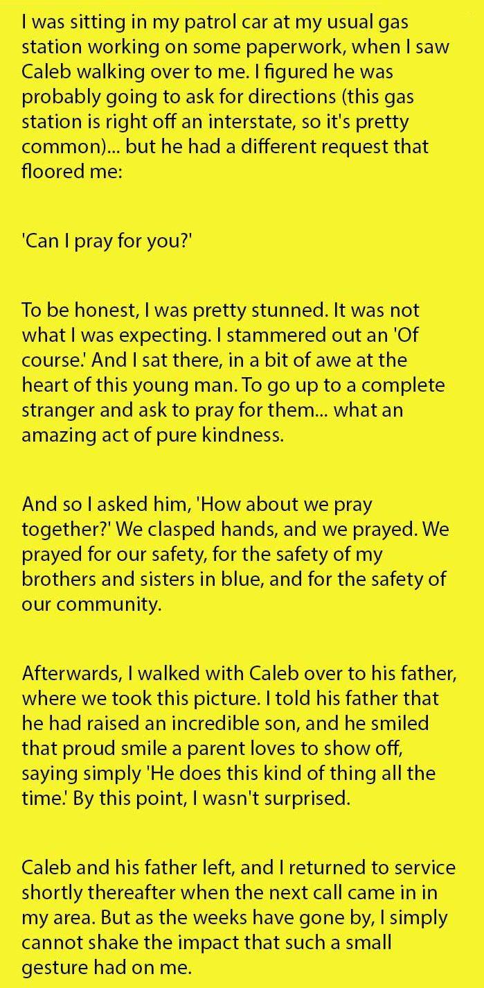 prayer for officers