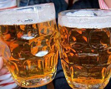 beer pain relief