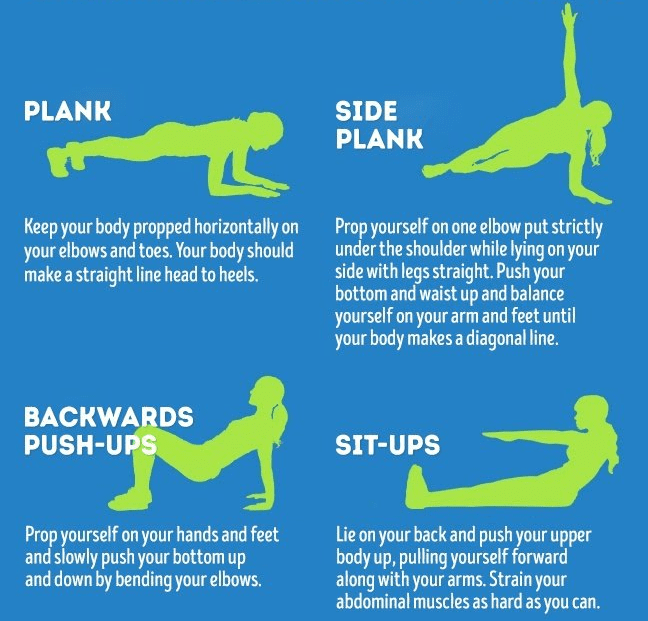 awesome stomach exercises