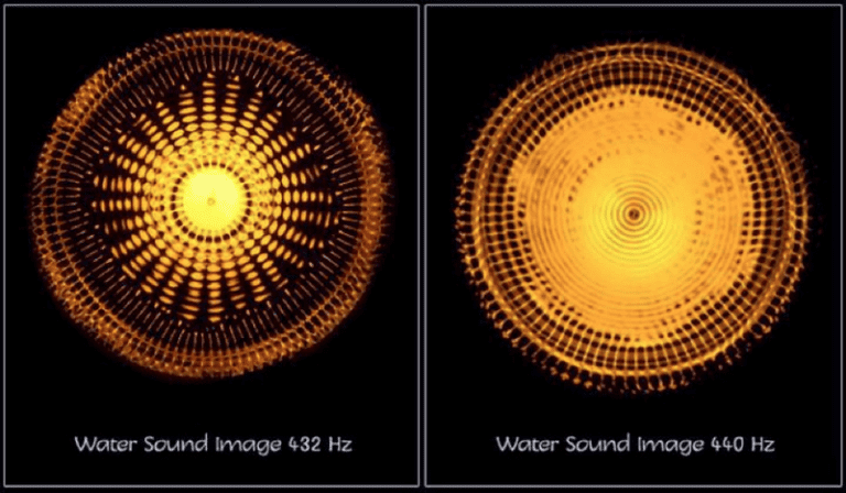 music frequency effects
