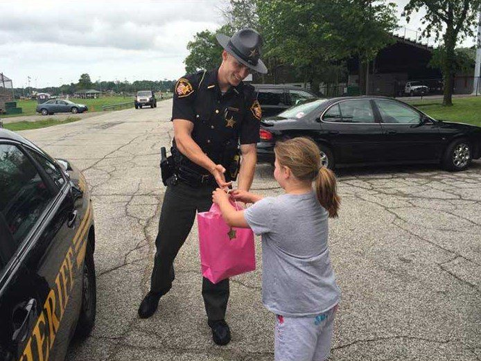 officer kind act
