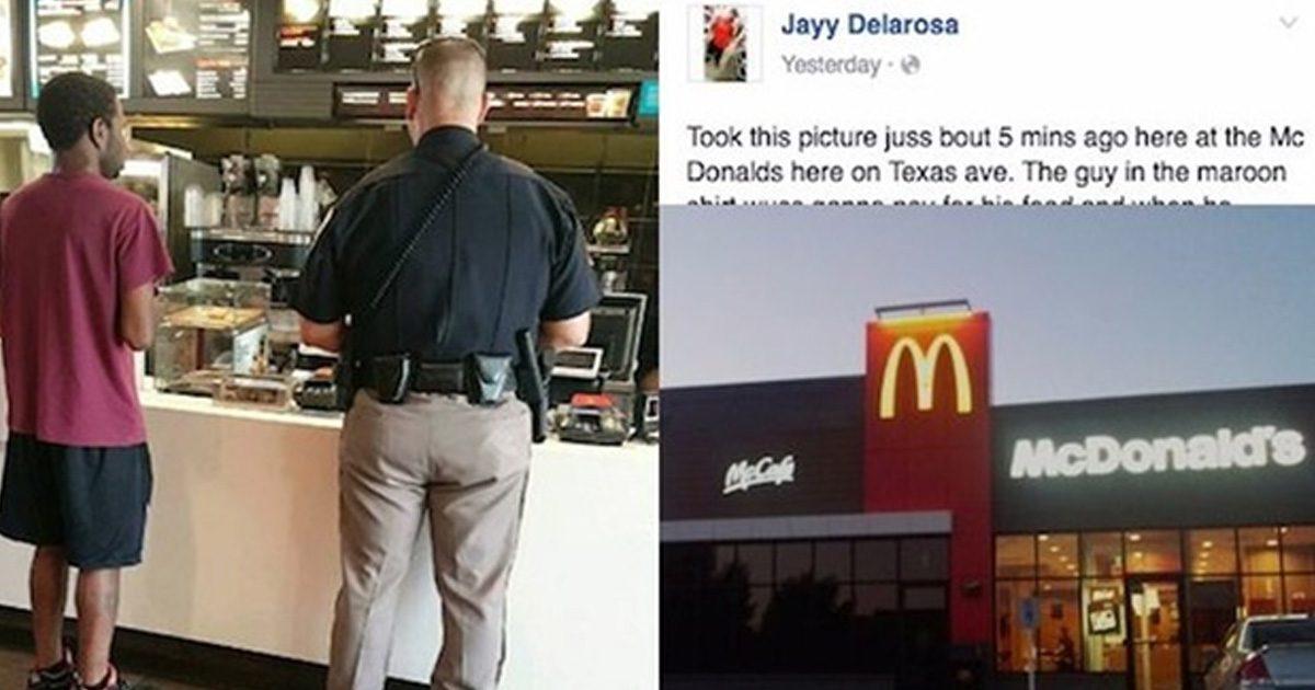 officer mcdonald's