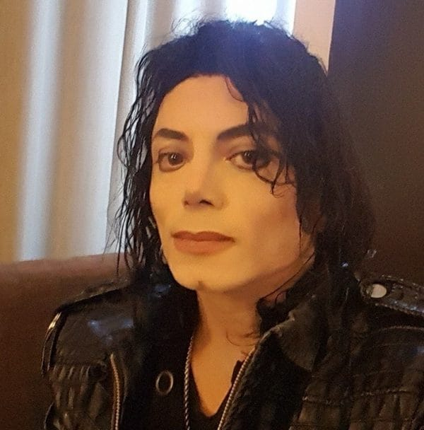sergio cortes as michael jackson