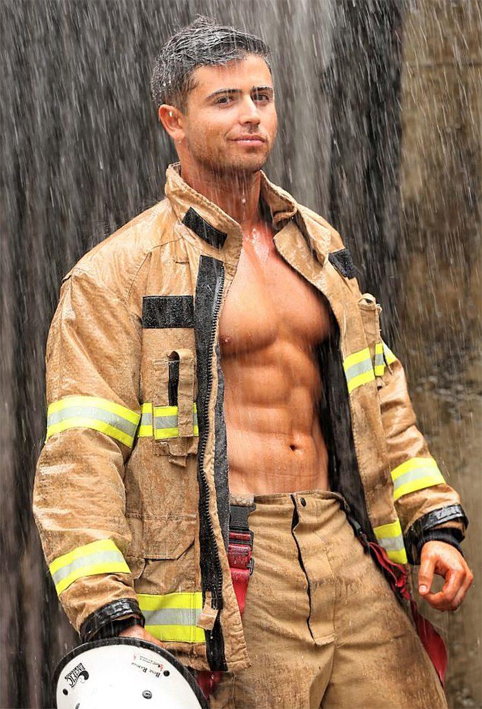 australian firefighters animals calendar