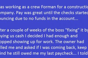 bad payroll check