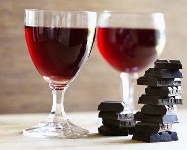 chocolate and red wine fight wrinkles