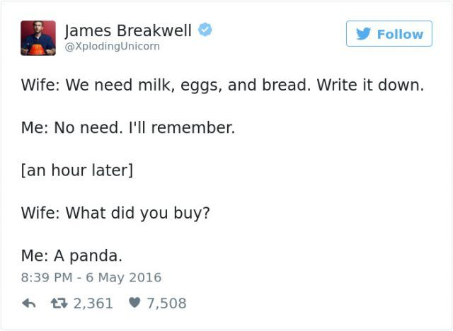 funny married life tweets