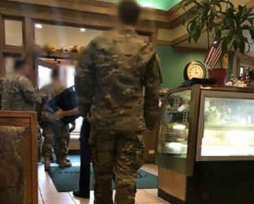 generosity to soldiers