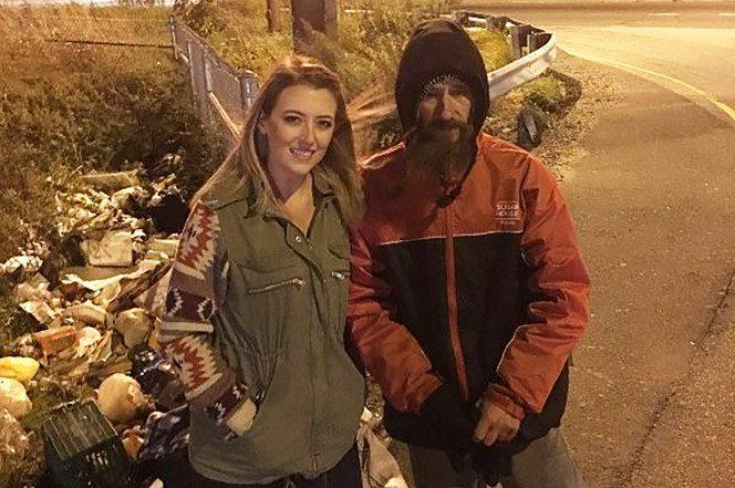 homeless man gives last twenty dollars