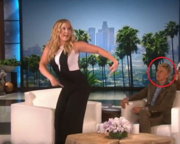 amy schumer on ellen