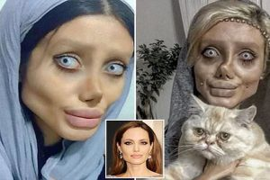 angelina jolie plastic surgery attempt