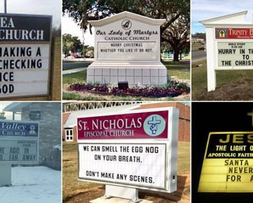 church christmas signs