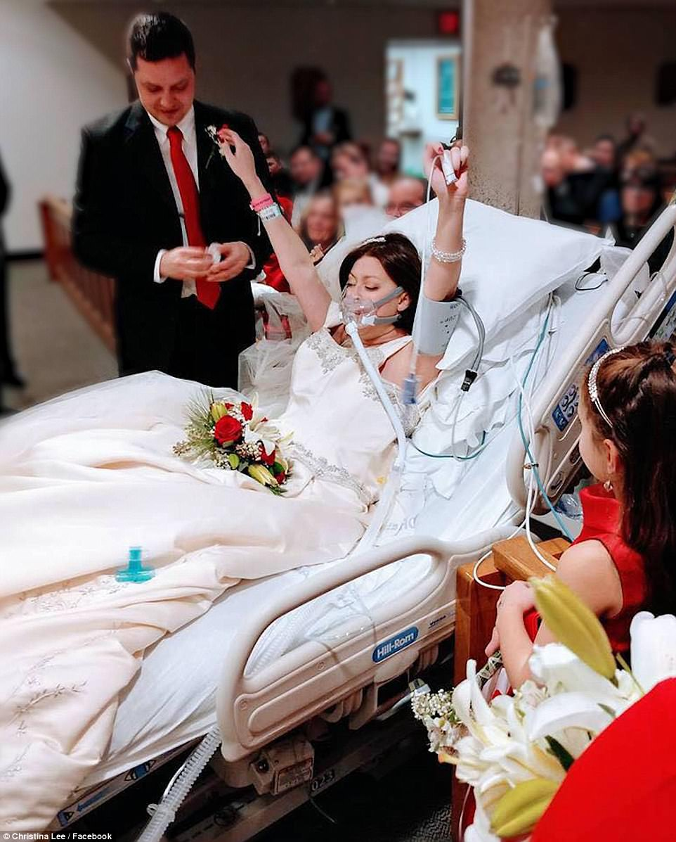 dying woman married