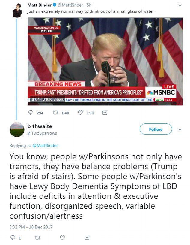 trump dementia
