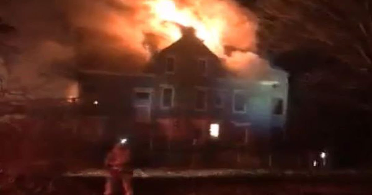 Woman Burns Her Entire Home Down To The Ground Trying To