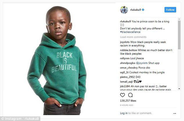 H&M racism issue