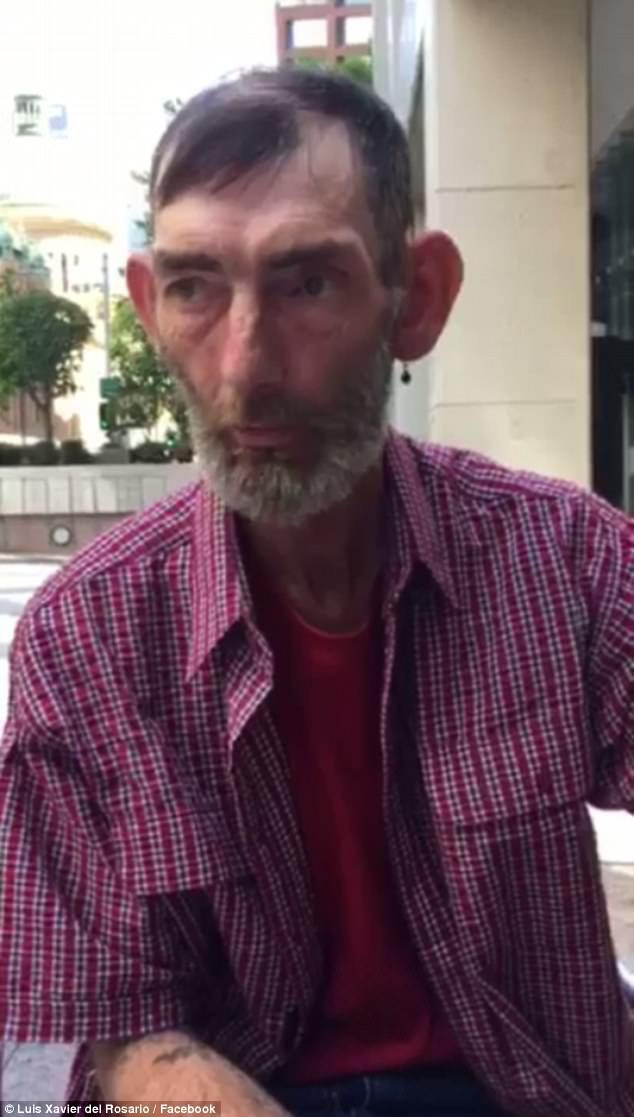 homeless sydney man