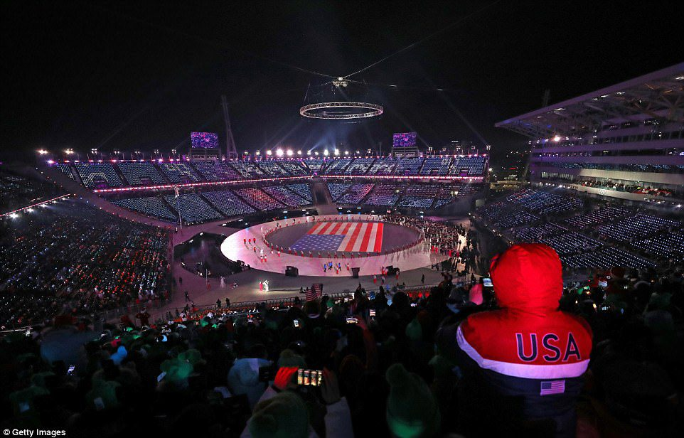 Winter Olympic opening ceremony