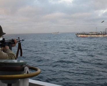 argentina navy vs chinese boat