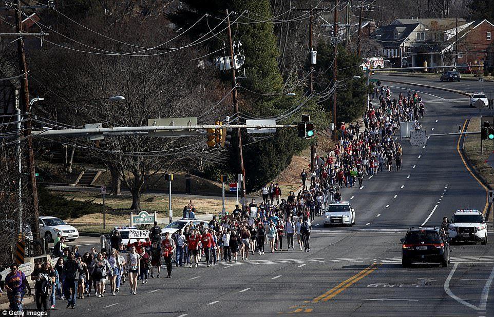 gun violence rally